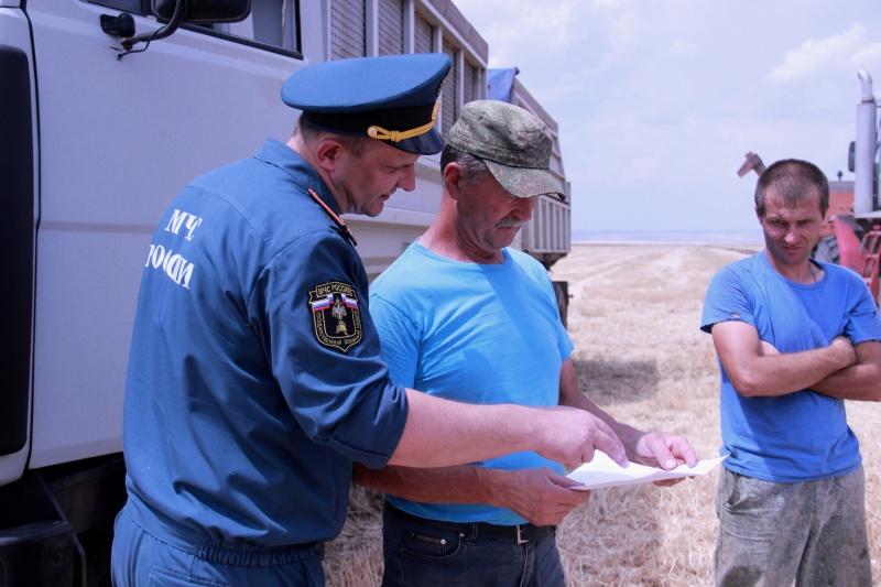 В регионе проверяют на безопасность земли сельхозназначения