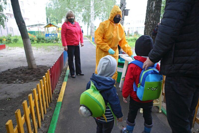 Горадминистрация: в детских садах есть всё необходимое для эпидемиологической безопасности