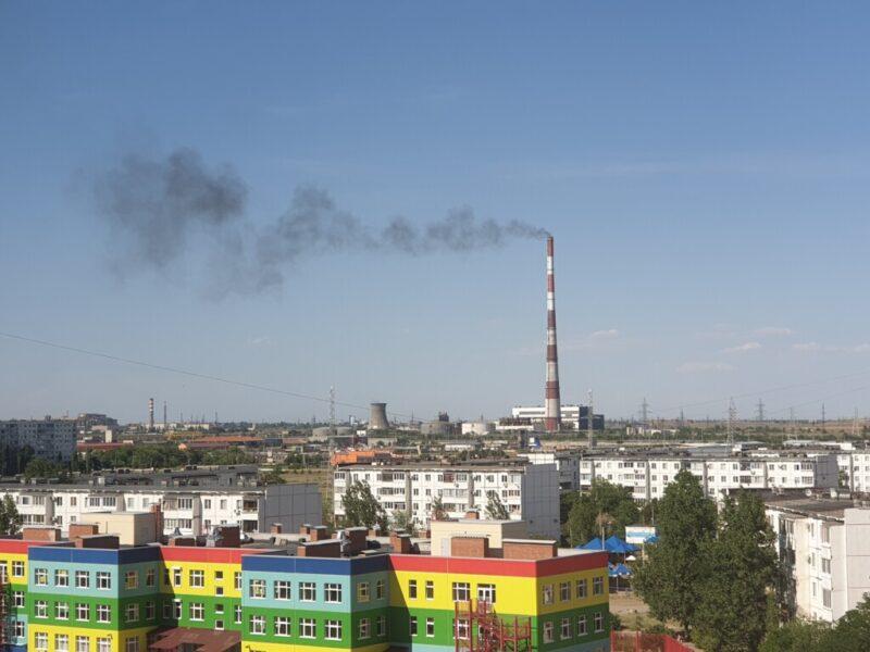 В воздухе Волжского зарегистрировали превышение концентрации вредных веществ