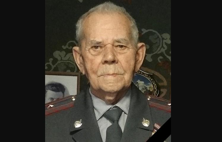 В Волгограде простились с участником Сталинградской битвы, ветераном МВД