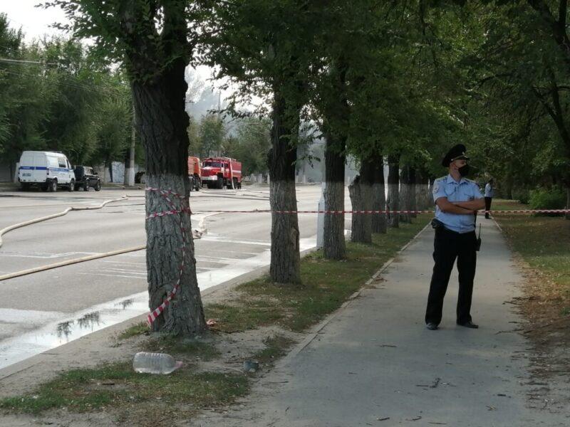 По факту взрыва на заправке в Волгограде возбудили уголовное дело