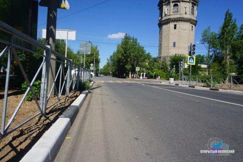 В Волжском устранили недочеты ремонта дорог по БКАД