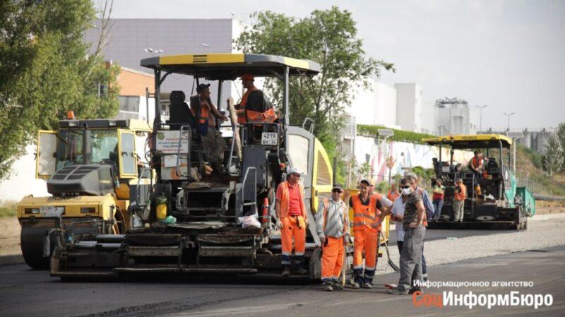 Мэрия отчиталась о ходе строительства дороги на улице Электролесовская