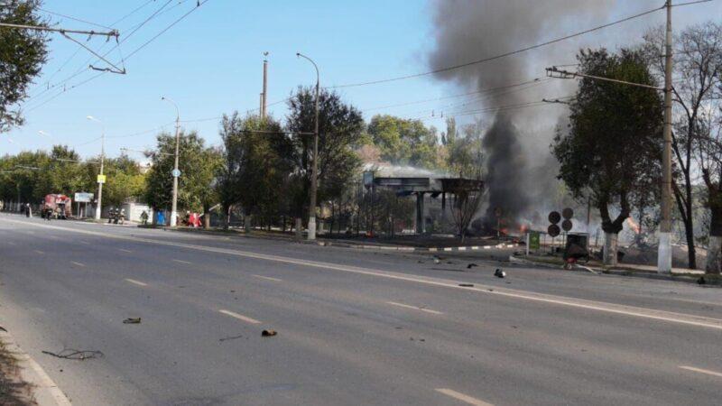 Взорвавшаяся в Волгограде газовая заправка остается оцепленной