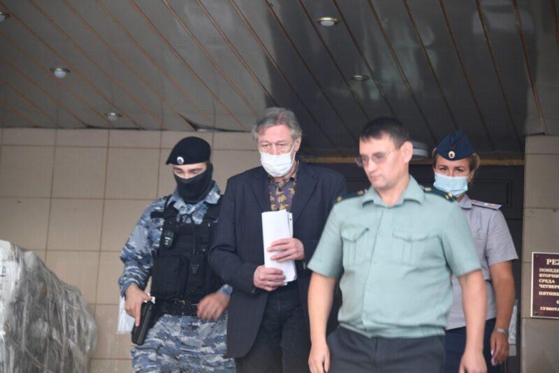 Ефремова признали виновником смертельного ДТП
