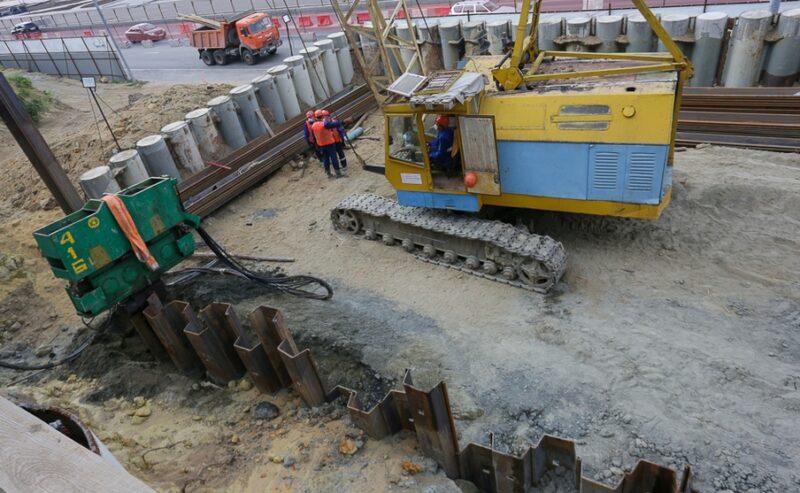 В Центральном районе Волгограда начали строить очистные сооружения