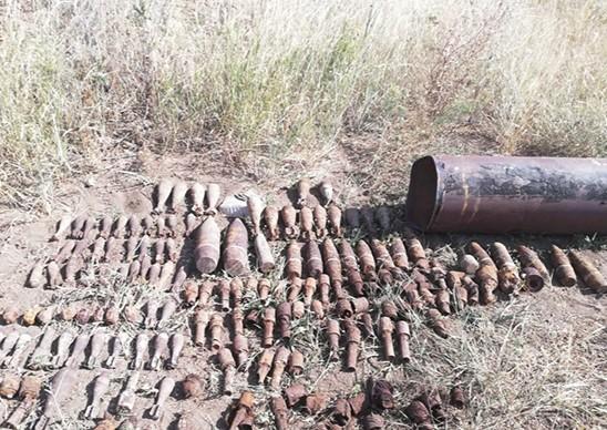 140 снарядов времен ВОВ уничтожили на Прудбое