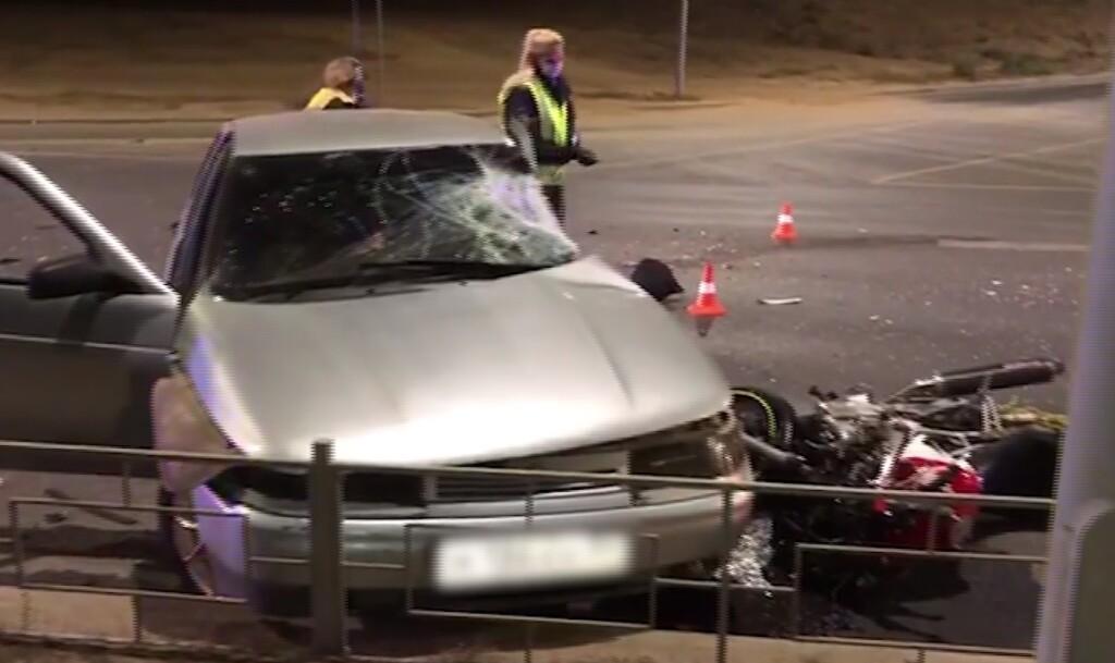 На рокадной дороге погиб мотоциклист