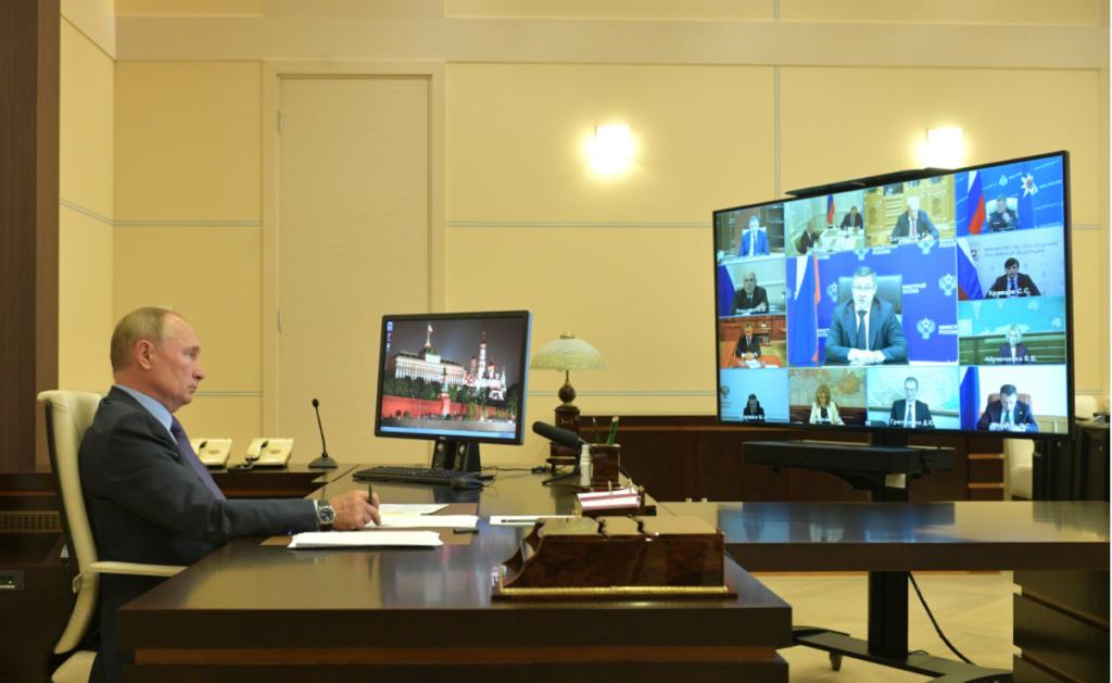 Волгоград похвалили перед Путиным