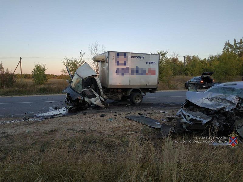 Страшная авария на трассе «Жирновск-Рудня-Вешенская» унесла жизни двух человек