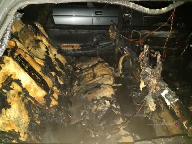 Волжанка дотла сожгла машину обидчика