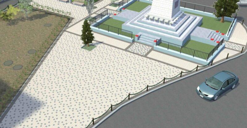 В Волгограде у братской могилы на улице Богунской появится новый сквер