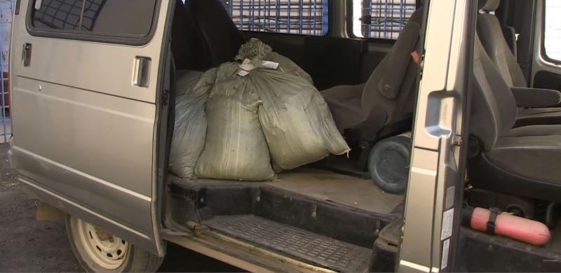 Восемь килограммов конопли сожгли в Среднеахтубинском районе
