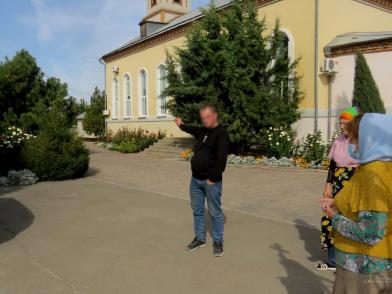 В Краснослободске поймали расхитителя храма на дамском велосипеде