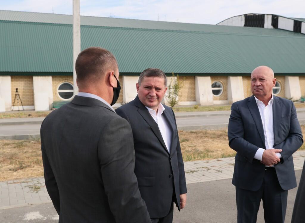 В Кировском районе появится новый футбольный стадион