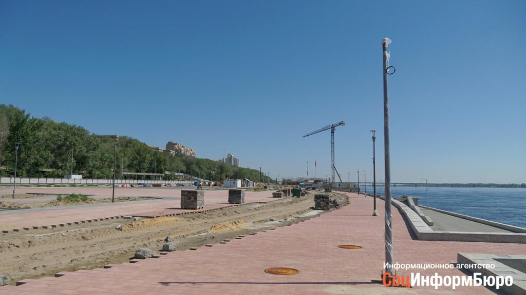 Благоустройство нижней террасы Набережной Волгограда обсудят на форуме «Таврида»