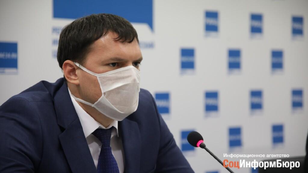 В Волгоградской области осталось всего 900 свободных мест в инфекционных госпиталях