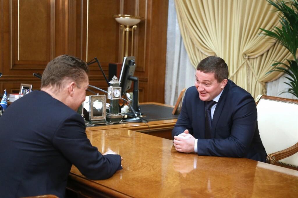 Волгоградская область и «Газпром» подписали соглашение на 4,3 млрд рублей