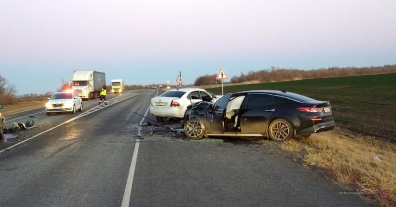 На трассе Р-22 «Каспий» произошла массовая авария