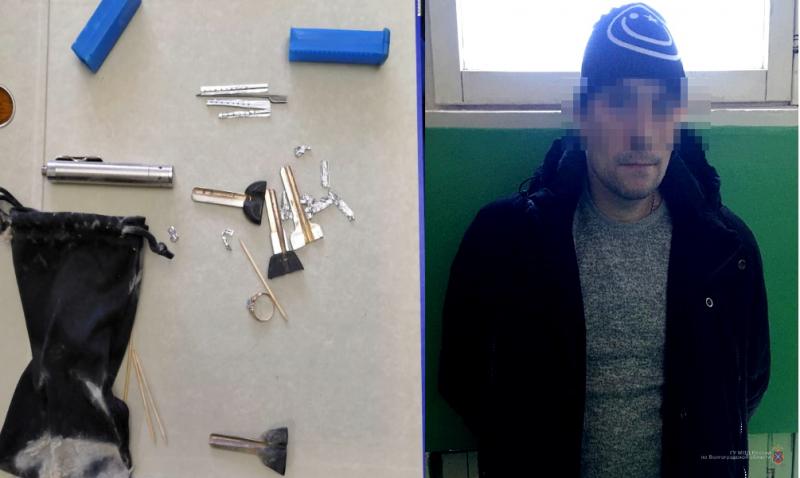 Хозяин пришел неожиданно: под Волгоградом поймали воров-квартирников