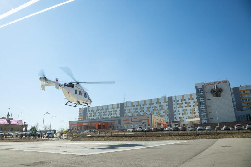 175 миллионов рублей заплатит Волгоградская область за очередную аренду санитарного вертолета