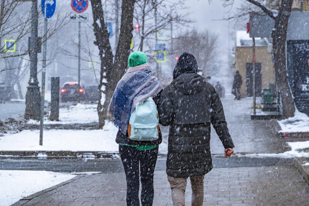 На выходных в Волгограде все-таки выпадет снег