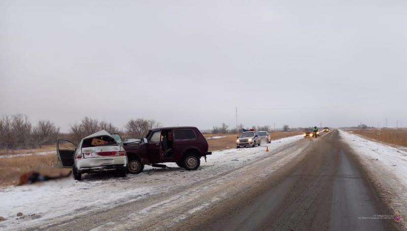 На дороге в Среднеахтубинском районе скончался водитель «ВАЗ-21102»