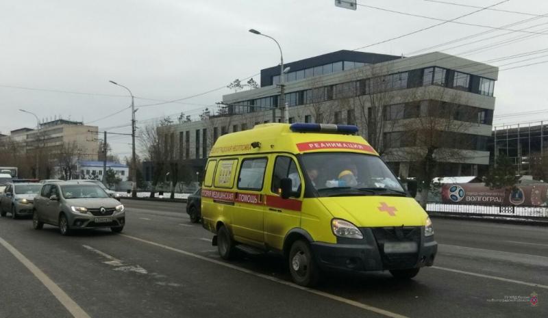 Очередное ДТП со скорой зарегистрировано в Волгограде