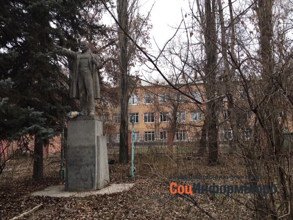 В Волгограде к 7 ноября снесли памятник Владимиру Ленину