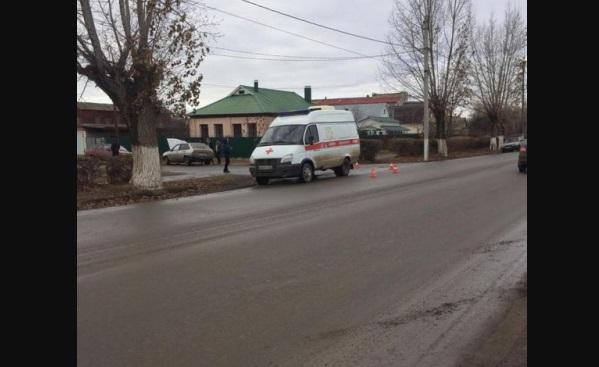 Карета скорой помощи сбила женщину в Михайловском районе