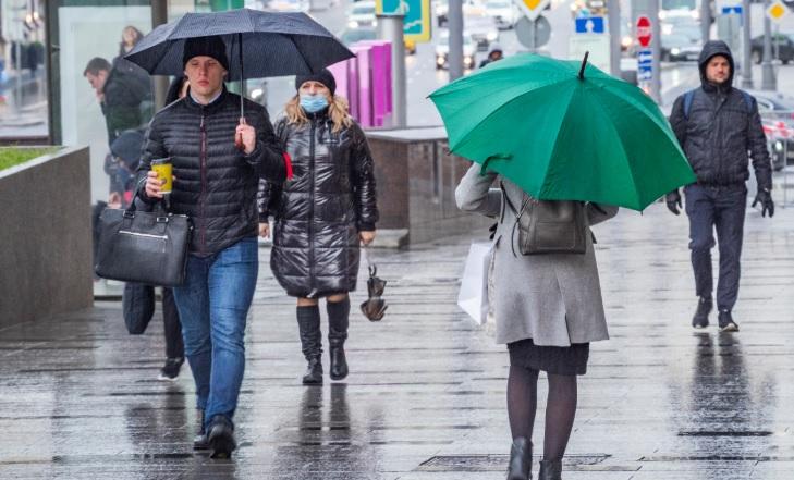 Дожди и грозы ожидаются в Волгограде в начале новой рабочей недели