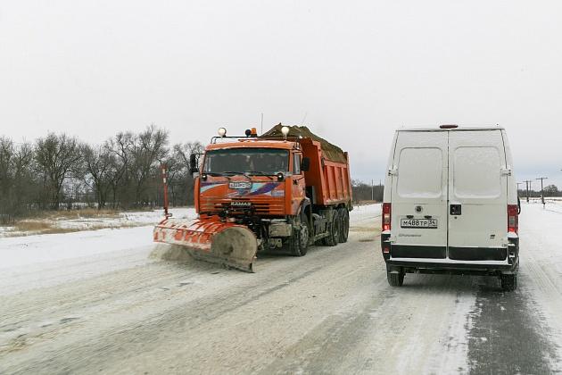 Администрация Волгоградской области отчиталась об уборке снега