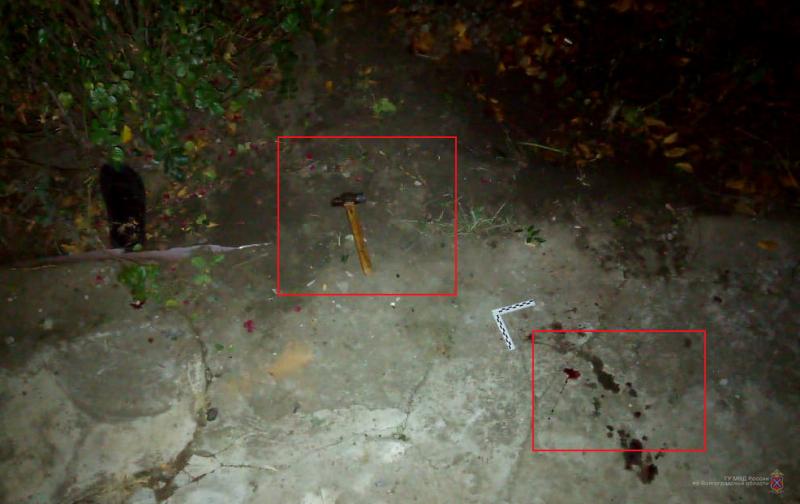 В Михайловке мужчина сломал соседу ноги молотком