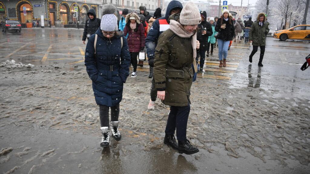 Волгоградцев ждет неделя слякоти и мокрого снега