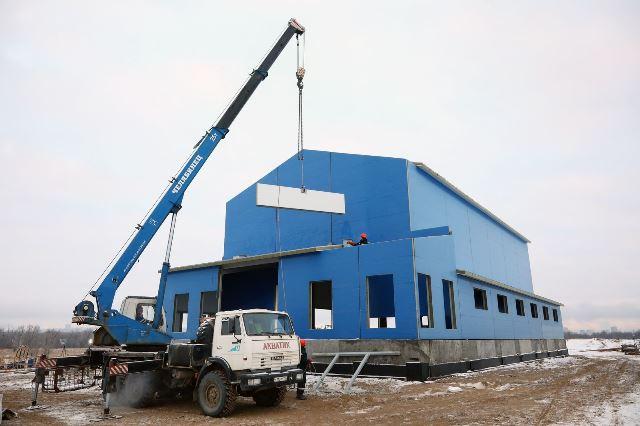 На острове Голодном в Волгограде строят систему очистки сточных вод