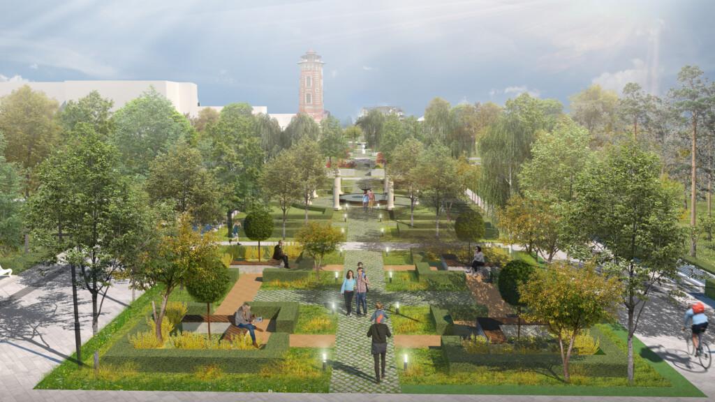 В Волгограде хотят сделать французский парк и японский сад