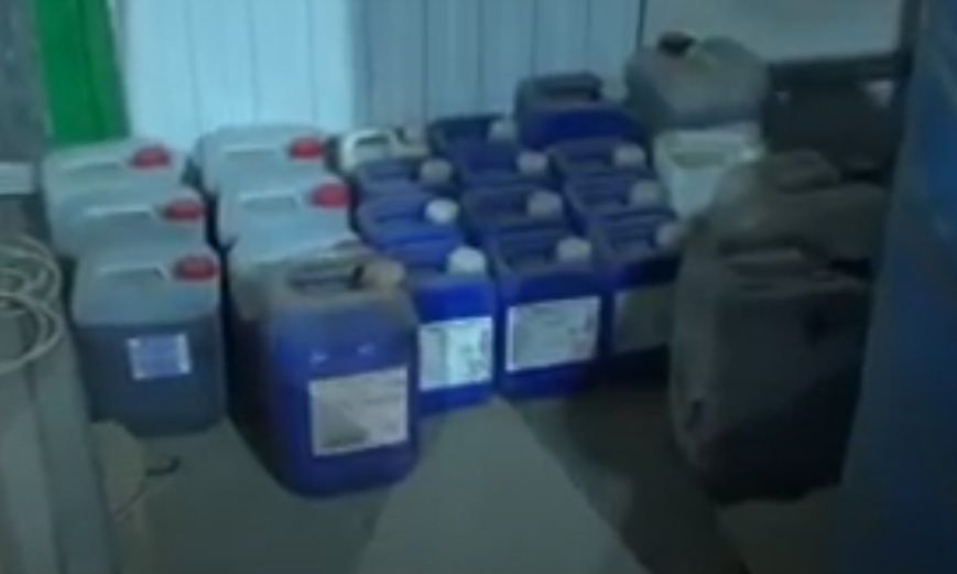 Тонны контрафактного алкоголя УФСБ обнаружило в Кировском районе