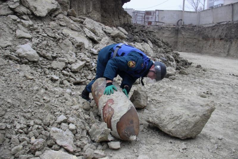 В Волгограде обезвредили 250-килограммовую бомбу
