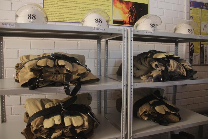 В селе Лог открыли новое подразделение противопожарной службы