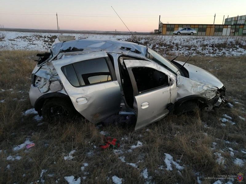 Две смерти зарегистрированы на дорогах Волгоградской области