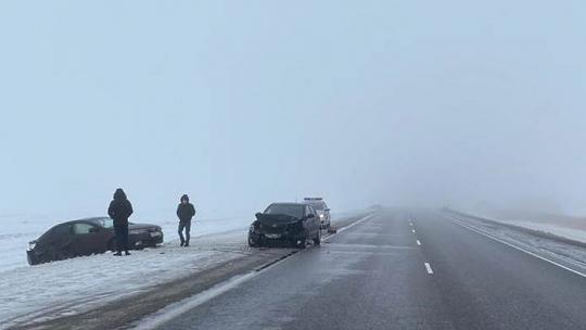 В ДТП на туманной трассе под Волгоградом пострадал младенец