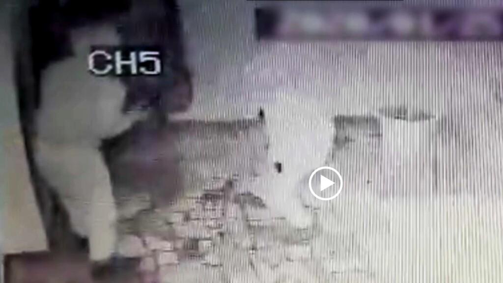 Попытка вскрыть банкомат закончилась провалом для грабителей в Волгоградской области (ВИДЕО)