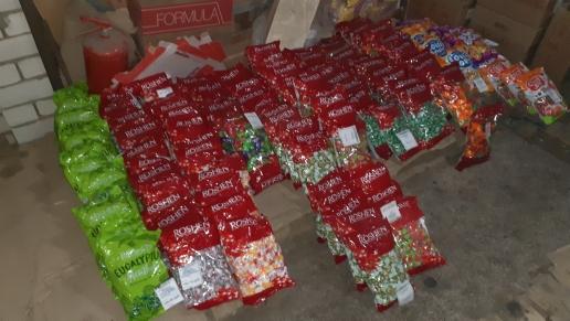 200 килограммов запрещенных украинских конфет изъяли на рынке в Волгограде