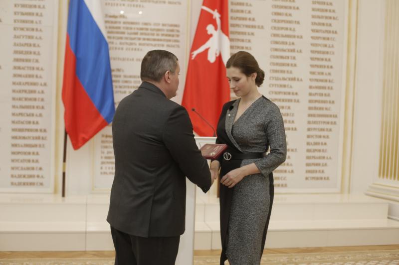 Родным Владимира Тафинцева передали государственную награду