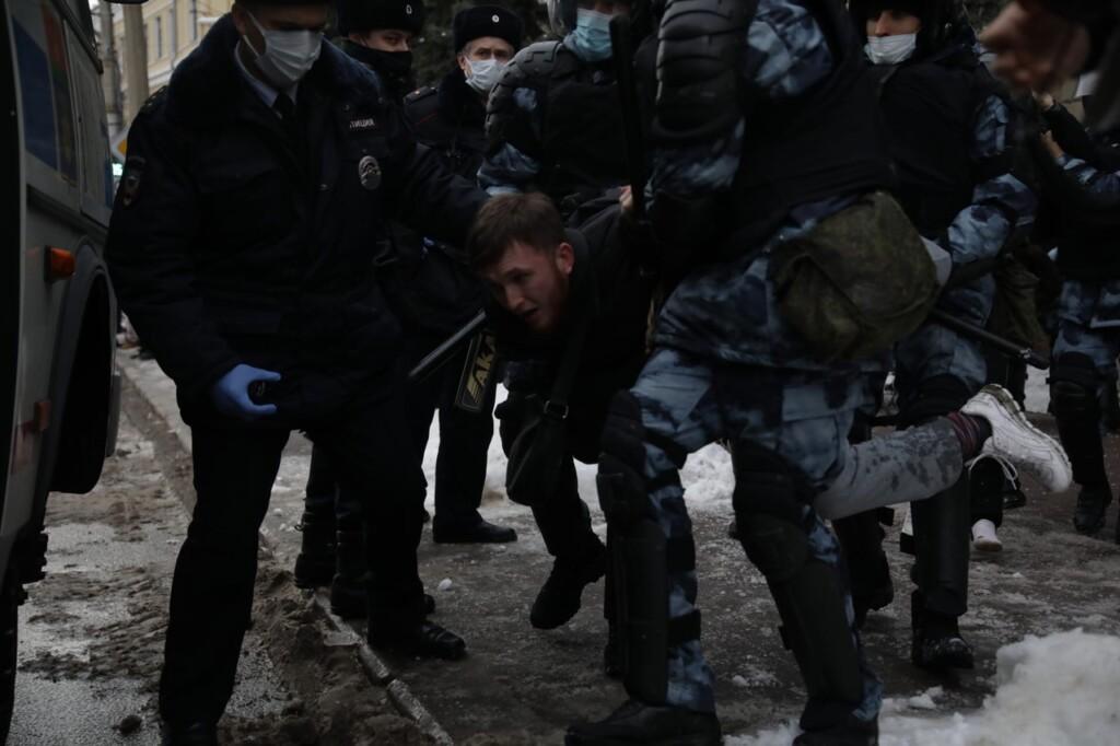 В Волгограде начались первые задержания