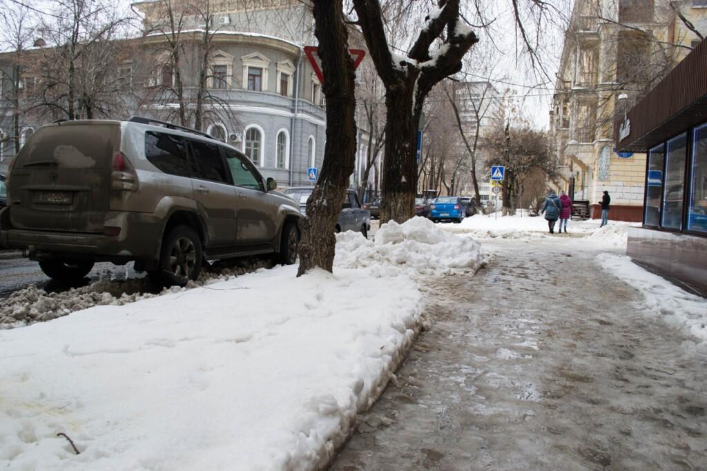 Волгоградские власти отчитались по обработке дорог