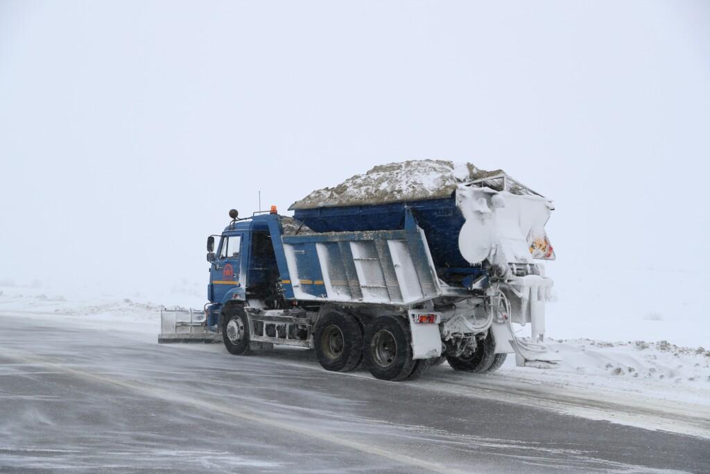 Большое количество спецмашин задействовано на северо-западе Волгоградской области