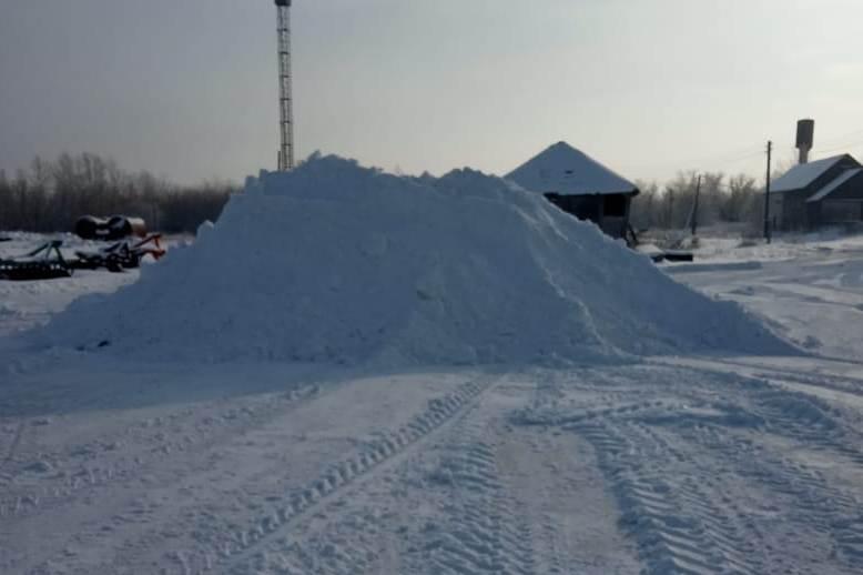 В Волгоградской области начали заготавливать снег