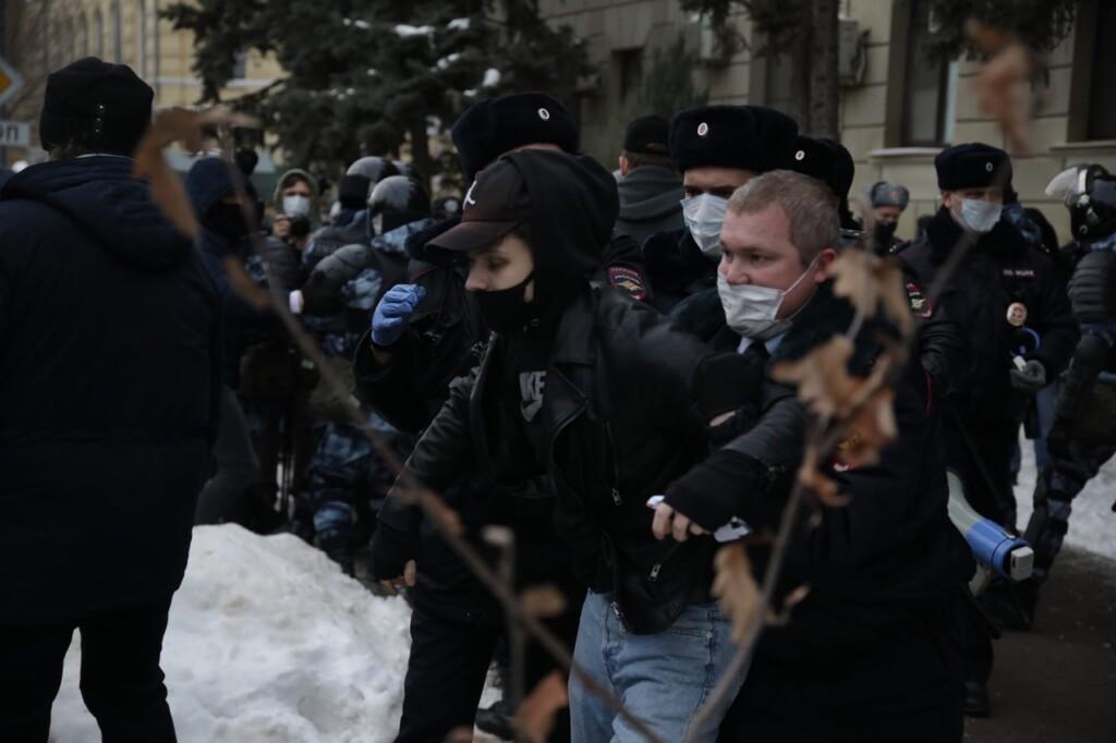 Стало известно число задержанных на митинге 23 января в Волгограде