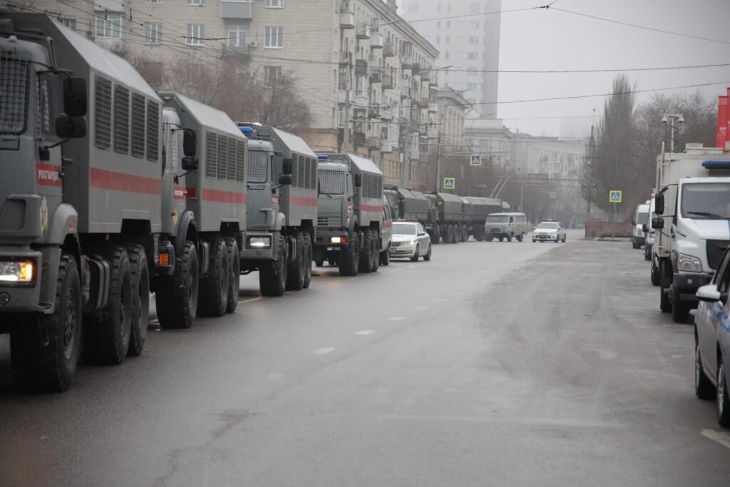 Движение в центре Волгограда восстановлено